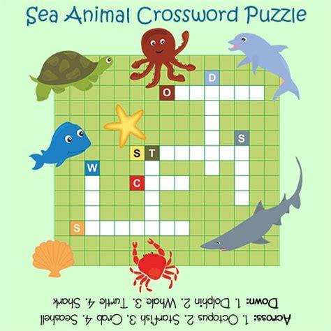 sea crossword crossword puzzles for