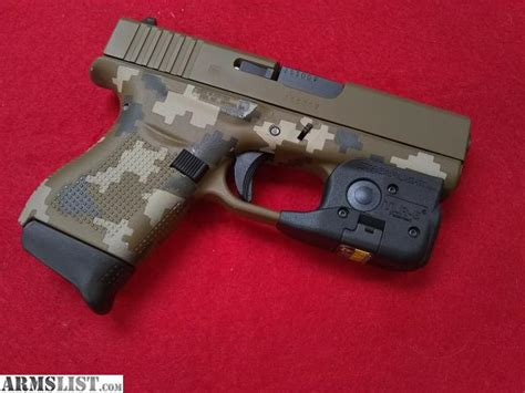 best laser light combo for glock 19 armslist for sale glock 43 digicamo 9mm laser light combo
