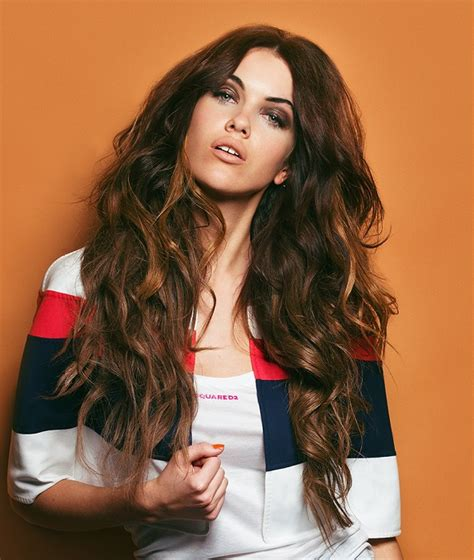 hairstyles for long hair rock chick a long brown hairstyle from the explorer collection by