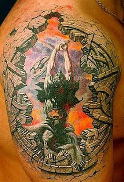 tattoo 3d viking new addition of 3d tattoos march 38