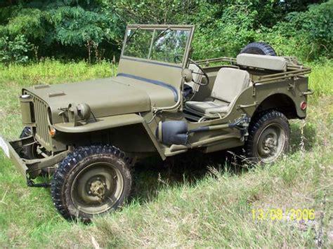 1943 willys jeep parts gerald rosenitsch