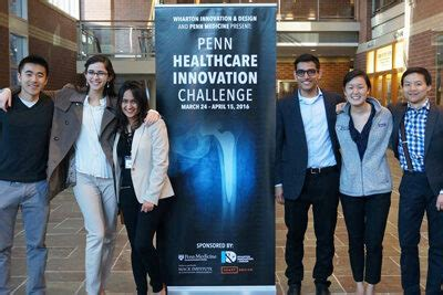 Wharton Executive Mba Calendar 2016 by Penn Students Reimagine Orthopedic Patient Experience