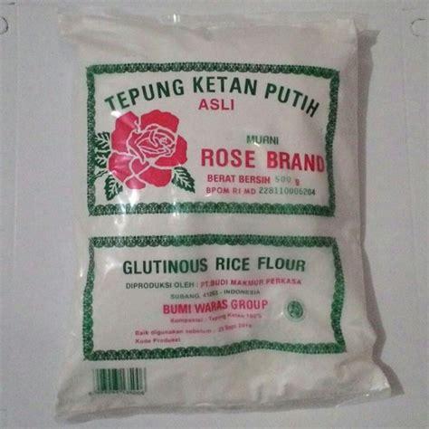jual tepung ketan putih asli brand 500g di lapak doi