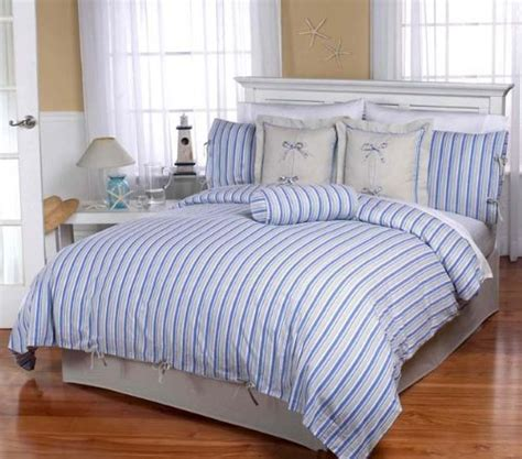blue and white striped comforter beach life quilt discount home bedding bed mattress sale