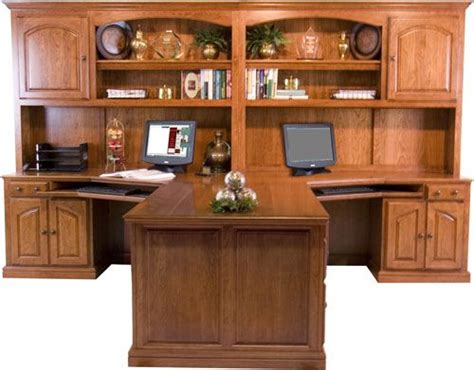 partner desk home office vasser peninsula desk dream home office pinterest