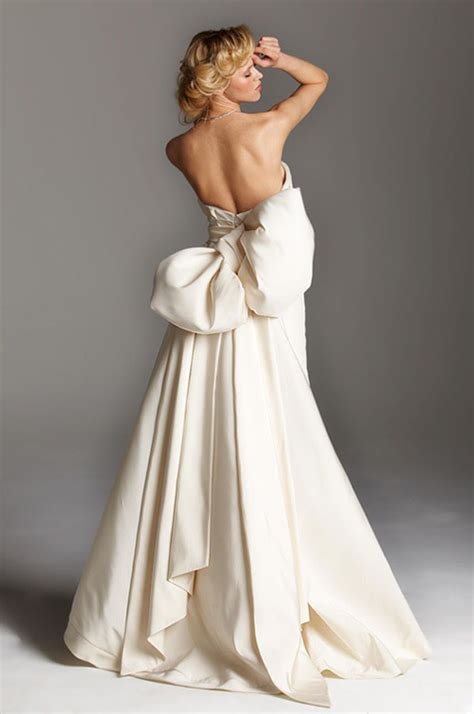 Lowback Ribbon Dress how to tie a ribbon sash bow on your wedding dress