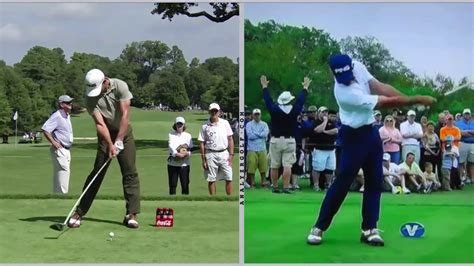iron vs driver swing billy horschel slow motion driver analysis youtube