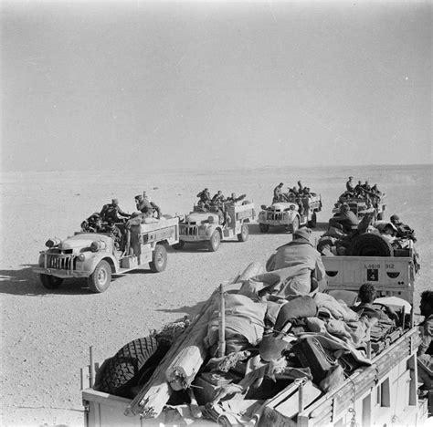 british range two teams of the british long range desert group meet