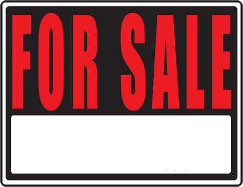 for sale template printable for sale sign clipart best