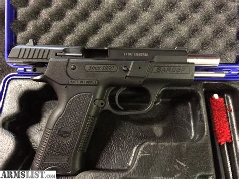 Gamat Sar 30 S 1 armslist for sale sar arms b6p 9mm 4 5 quot 17 1 270