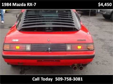 service manual 1984 mazda rx 7 temperature control motor removal sparkplug wires classic