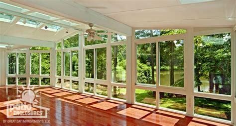 All Season Solarium All Season Sunroom Featuring Length Windows And
