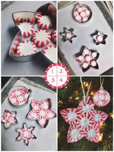 first pinterest review making peppermint candy ornaments