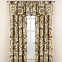 Spencer Home Decor Window Panels Suzani Rod Pocket Window Curtain Panels Contemporary Curtains By Bed Bath Beyond