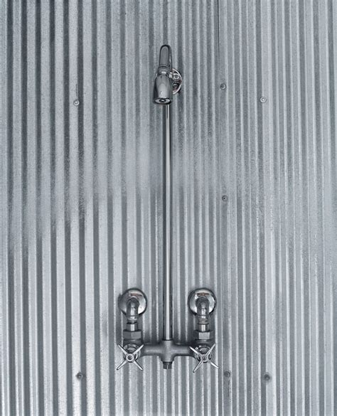 Using Corrugated Metal For Shower Walls by Corrugated Sheet Metal For Shower Walls Bathroom Ideas