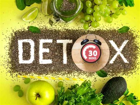 Healthy Way To Detox Your by Healthy Ways To Detox Your In Just 30 Minutes Lifealth