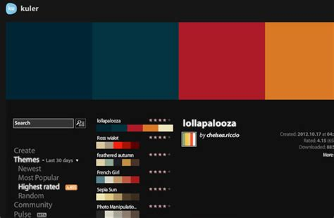 color picker from website setting up readable web copy using css web design