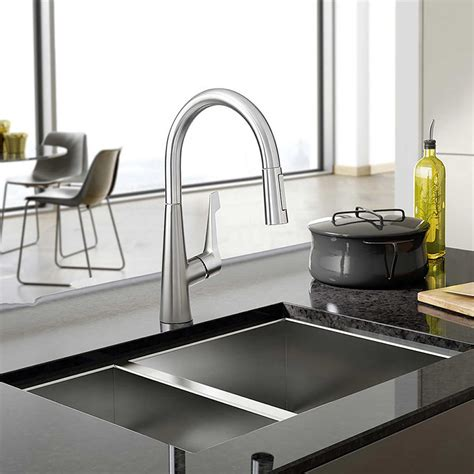hansgrohe metro kitchen faucet kitchen astounding hansgrohe metro higharc kitchen faucet