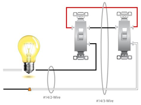 2 switch light wiring
