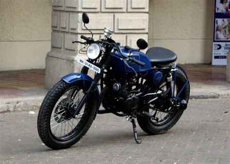 Boxer Modify Bike Pic by Serrao Modified Bajaj Pulsar 150 Cafe Racer 05 350cc