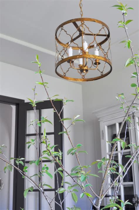 Home Office Chandelier Lighting Our Home Office Decor Gold Designs