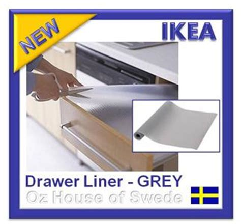 Kitchen Cabinet Liners Ikea Ikea Non Slip Mat Drawer Liner Kitchen Bedroom Draw Cupboard Shelf Protect Grey Ebay