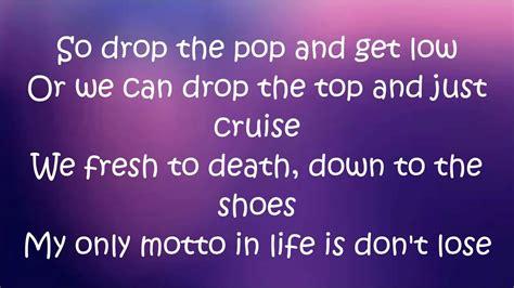 Lyrics To Megatron Nicki Minaj