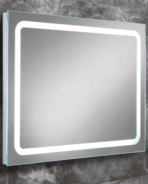 Back Lighted Bathroom Mirrors Hib Scarlet Steam Free Led Back Lit Bathroom Mirror 800 X 600mm