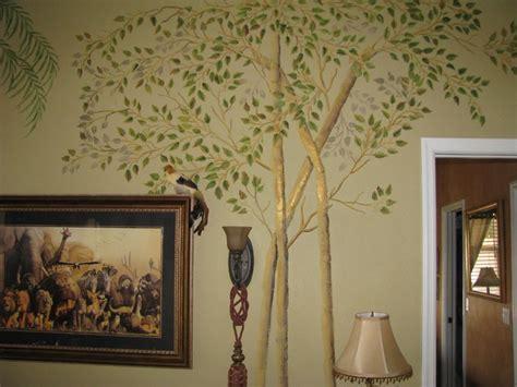 stencils for living room walls raised plaster aspen trees on living room wall mediterranean other by larsen stencils
