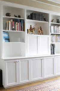 57th Street Bookcase Custom Built In 57th Street Bookcase Amp Cabinet