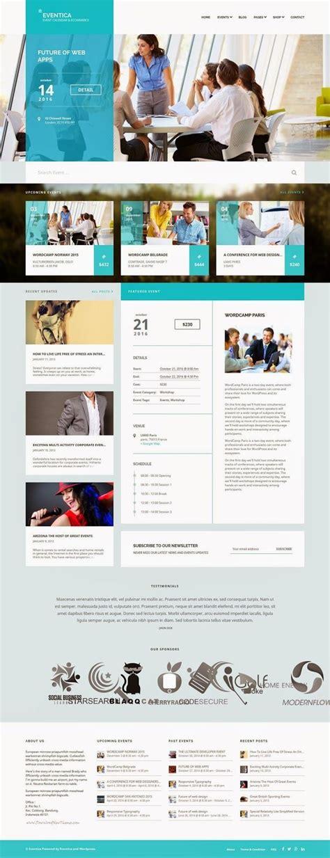 designspiration wordpress theme best 25 event website ideas on pinterest clean web
