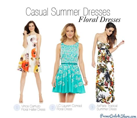 hairstyles for casual dresses 4 of the best casual summer dresses styles for 2014