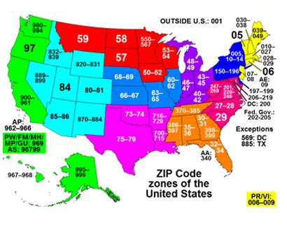 Us Address Lookup By Zip Code Zip Codes