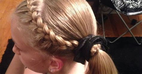 hairstyles for gymnastics meets gymnastics hairstyle gymnastics hairstyles pinterest