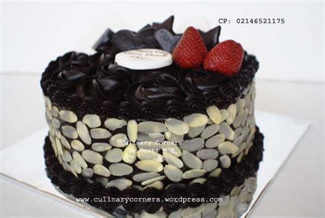 Coklat Kue Tart Cake Oval cake coklat ganache culinary corners