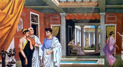 banchetto romano un banchetto romano con l artolaganus il pane delle feste