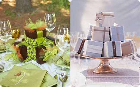 wedding favors that can be used as centerpieces budget