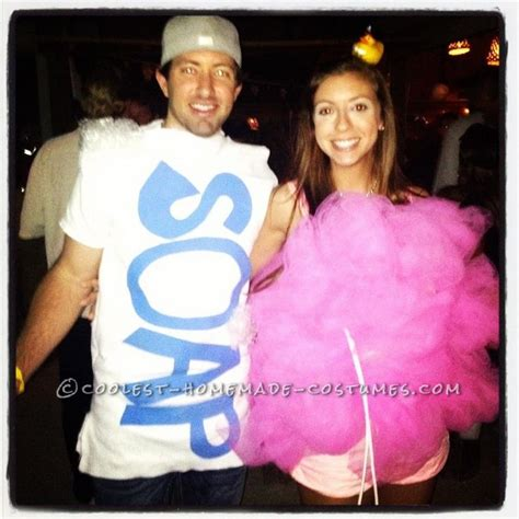 7 Costume Ideas For Couples by Easy And Loofah And Bar Of Soap Costume