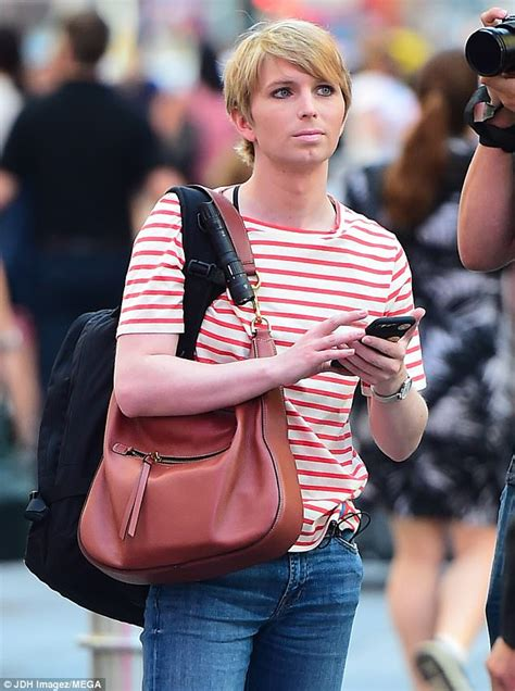 chelsea manning chelsea manning strolls through new york s times square