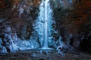 Frozen Waterfalls by Breathtaking Photo Of A Frozen Waterfall In Argentina
