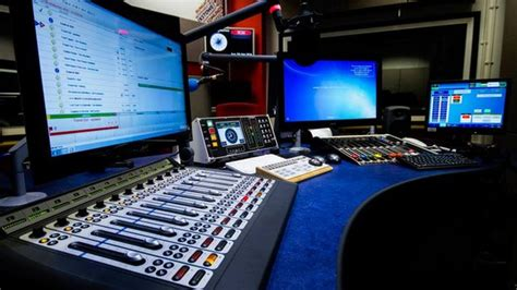 radio studio desk essex mixing desk to become science museum
