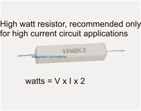 identifying resistor wattage identify component specifications in a circuit