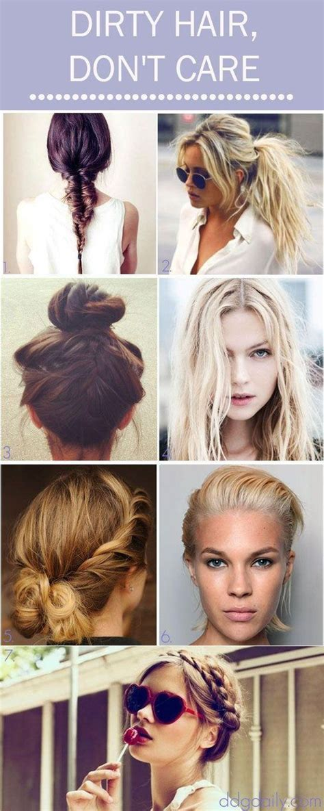 diy hairstyles for unwashed hair 17 best images about hair on pinterest hair dos