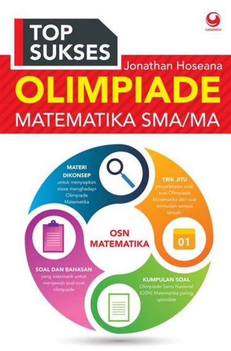 Sukses Juara Kompetisi Matematika Sma Ma By Jonathan Hoseana bukukita top sukses olimpiade matematika sma ma