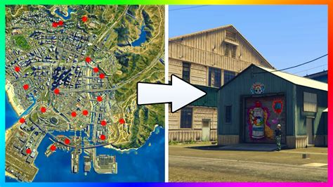 Cheap Places To Live by Gta 5 Finding All 20 Warehouse Locations Amp High Rise Hq