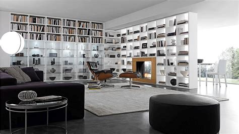 bookshelf partition 15 modular bookcase compositions that offer design flexibility