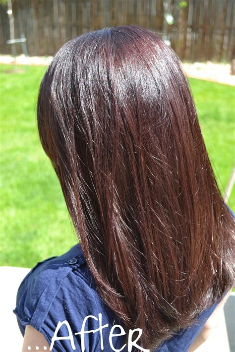 hair reviews madison reed hair color before and after dark brown hairs