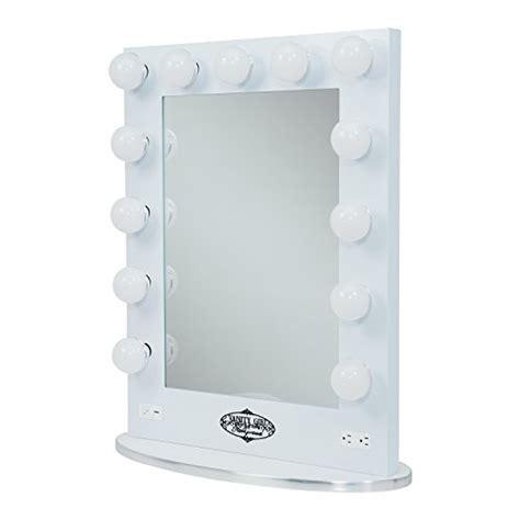 broadway lighted vanity mirror white vanity broadway lighted vanity mirror with 2