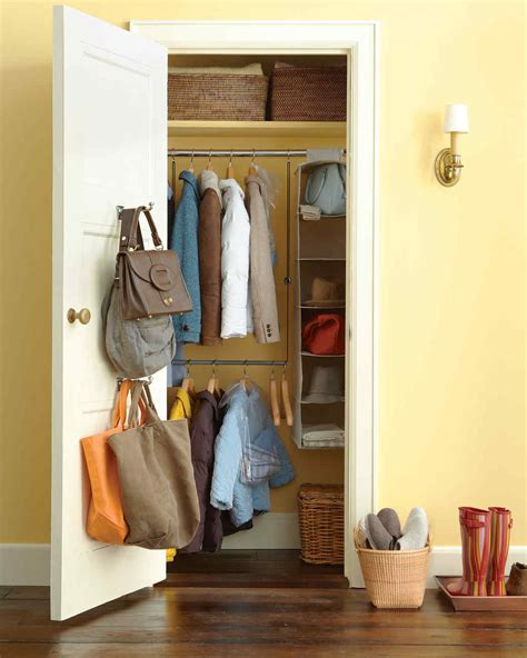 entry closet ideas entryway organizing ideas martha stewart