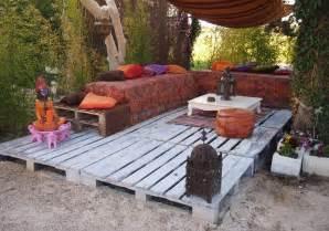 terrasse aus paletten creatief interieur met paletten tips inspiratie